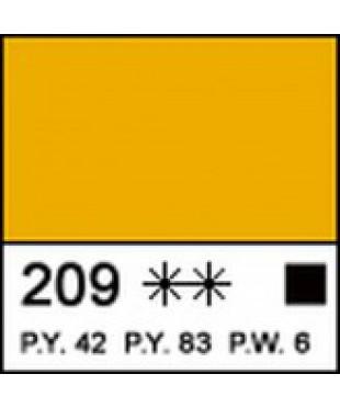 12304209 Краска акриловая МАСТЕР-КЛАСС Неаполитанская желтая, 46 мл