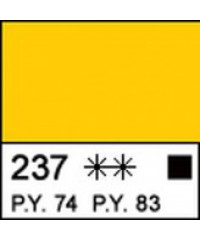 Краска акриловая МАСТЕР-КЛАСС 12304237, Желтый прочный, 46 мл