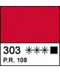 12304303 Краска акриловая МАСТЕР-КЛАСС Кадмий красный темный, 46 мл