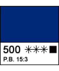 "Краска акриловая МАСТЕР-КЛАСС 12304500  Голубая ""ФЦ"", 46 мл"