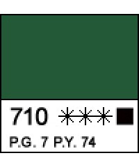 12304710 Краска акриловая МАСТЕР-КЛАСС Зеленая темная, 46 мл