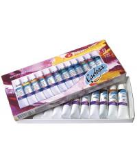 Набор художественных акриловых красок ЛАДОГА  2241008 12 цв