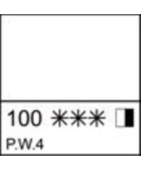 2204100 Краска акриловая серия Ладога  Белила цинковые, туба 46 мл