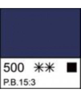 """Краска акриловая серия Ладога  2204500  Голубая """"ФЦ"""", туба 46 мл"""