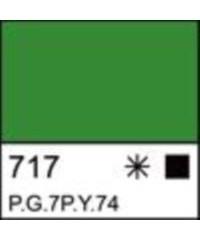 2204717 Краска акриловая серия Ладога Зеленая светлая, туба 46 мл