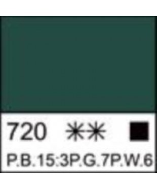 Краска акриловая серия Ладога  2204720  Изумрудная, туба 46 мл
