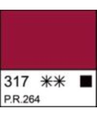 2204317 Краска акриловая серия Ладога Краплак красный, туба 46 мл