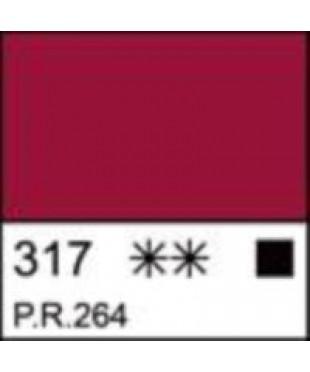 Краска акриловая серия Ладога  2204317  Краплак красный, туба 46 мл