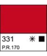2204331 Краска акриловая серия Ладога Красная, туба 46 мл