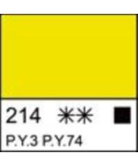 Краска акриловая серия Ладога  2204214  Лимонная, туба 46 мл