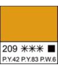 2204209 Краска акриловая серия Ладога Неаполитанская желтая, туба 46 мл