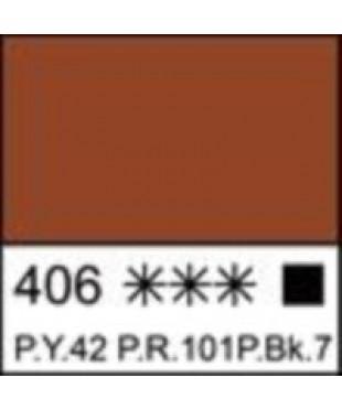 Краска акриловая серия Ладога  2204406  Сиена жженая, туба 46мл