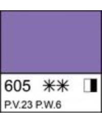 2204605 Краска акриловая серия Ладога Фиолетовая светлая, туба 46 мл