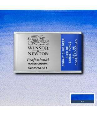 0100180 Акварель Winsor&Newton Artist's, cobalt blue deep, кювета