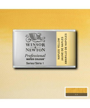 0100422 Акварель Winsor&Newton Artist's, naples yellow, кювета