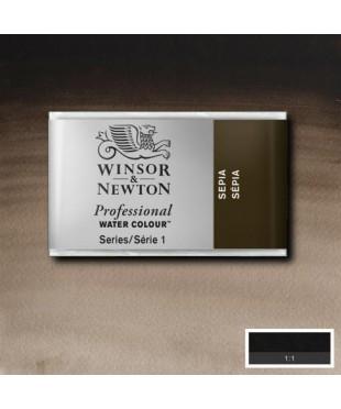 0100609 Акварель Winsor&Newton Artist's, sepia, кювета