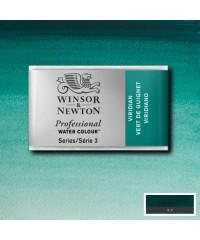 0100692 Акварель Winsor&Newton Artist's, Viridian, кювета