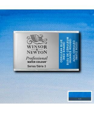 0100140 Акварель Winsor&Newton Artist's,Cerulean blue , кювета