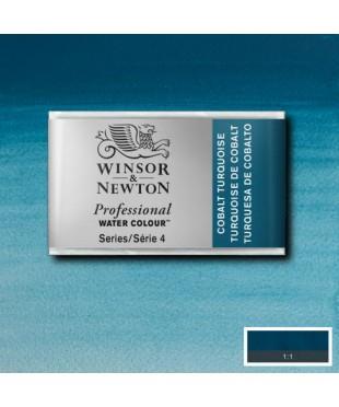 0100190 Акварель Winsor&Newton Artist's,Cobail Turquoise , кювета