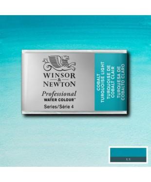 0100191 Акварель Winsor&Newton Artist's,Cobail Turquoise light , кювета