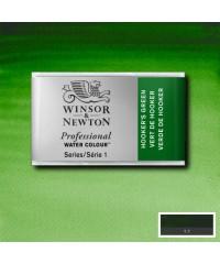 0100311 Акварель Winsor&Newton Artist's, Hooker's Green, кювета