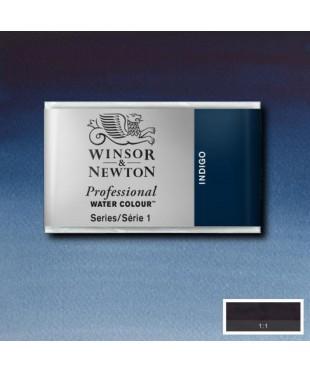 0100322  Акварель Winsor&Newton Artist's, Indigo , кювета
