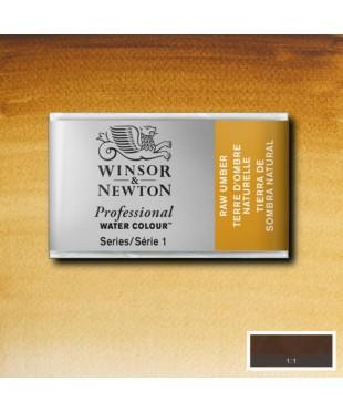 Акварель Winsor&Newton Artist's 0100554  Raw umber, кювета