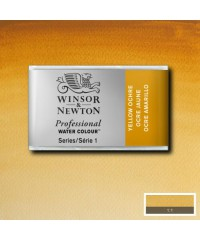 0100744 Акварель Winsor&Newton Artist's, Yellow ochre, кювета