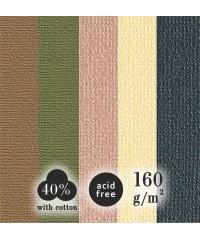 """0707 Palazzo, Планшет для пастели """"Теплые цвета"""", А2, 5 цветов, 15 листов"""