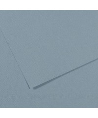 200321174 Бумага для пастели в листах Canson, серия Mi-Teines, цвет светло-голубой №490, размер 50х65 см, 160 гр/кв.м