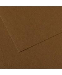 200331484 Бумага для пастели в листах Canson, серия Mi-Teines, цвет каштановый, № 501, размер 50х65 см, 160 гр/кв.м