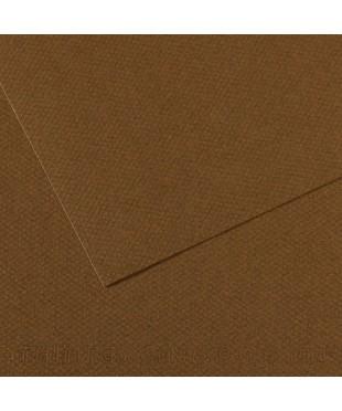 Бумага для пастели в листах Canson, серия Mi-Teines, цвет каштановый, № 501, размер 50х65 см, 160 гр/кв.м, 200331484