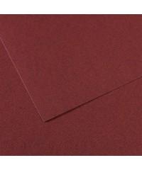 200331494 Бумага для пастели в листах Canson, серия Mi-Teines, цвет вишневый, № 503, размер 50х65 см, 160 гр/кв.м