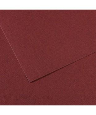 Бумага для пастели в листах Canson, серия Mi-Teines, цвет вишневый, № 503, размер 50х65 см, 160 гр/кв.м, 200331494