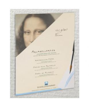 Папка для акварели SCHOELLERSHAMMER DA CAPO, 20 листов, 165 г\кв.м, размер 420х560 мм, 31135