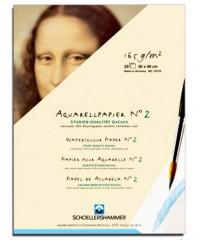 31133   Папка для акварели SCHOELLERSHAMMER DA CAPO, 20 листов, 165г\кв.м, размер 300х400 мм