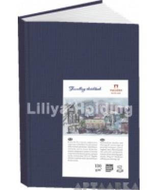Блокнот для эскизов, набросков и зарисовок Palazzo, А6, 62 листа, цвет синий, 5672