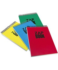 CL8358 Блокнот для набросков Zap Book, спираль, 29,7х42 см, 120л.