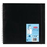 DE2300046 DERWENT Блокнот для эскизов в твердой обложке, размер 30,48х30,48 см., 40л