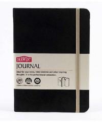 DE2301711 Derwent Journal Блокнот для набросков и эскизов, размер 120х170 мм, 40л, черный