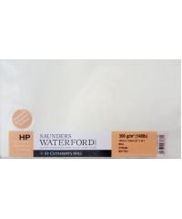 Бумага акварельная SAUNDERS WATERFORD, 760х560 мм, 300 г/кв.м, HP, цвет White