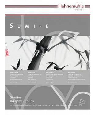"10628371 Hahnemuhle Альбом для каллиграфии ""Sumi-e"", размер 30х40см, плотность 80г/м2, 20л."
