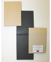 28041706 Альбом для набросков черная бумага А6  40л.