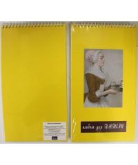 28041710 Альбом для пастели 17х30см 340 гр. 20л.