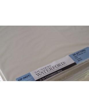 Бумага акварельная SAUNDERS WATERFORD, цвет White, 760х560 мм, 300г/кв.м, CP NOT