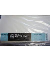 Бумага акварельная SAUNDERS WATERFORD, 760х560 мм, 190 г/кв.м, CP NOT цвет White