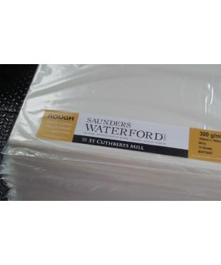 Бумага акварельная SAUNDERS WATERFORD, 760х560 мм, 300 г/кв.м, ROUGH, цвет High White