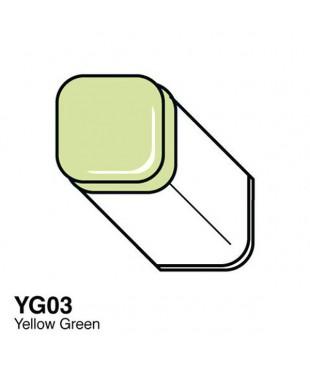 Маркер COPIC Classic двухсторонний, YG03, цвет Yellow Green