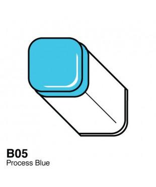 Маркер COPIC Classic двухсторонний В05, цвет Process Blue