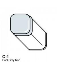 Маркер COPIC двухсторонний, C1  цвет Cool Grey 1
